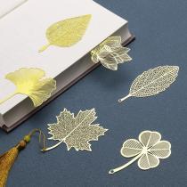 Creative Traditional Metal Leaf Bookmark Gift