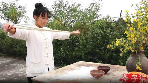 Loose Linen White Unisex Tops Shirt - Li Ziqi Fairy Style Clothes Hanfu Style