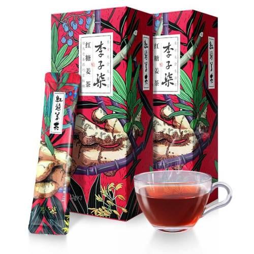 Li Ziqi Cane Sugar Tea with Ginger Chinese Healthy Tea